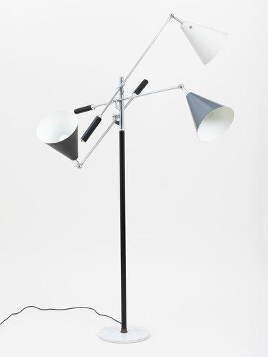 Arredoluce Three-Arm Floor Lamp, image 6