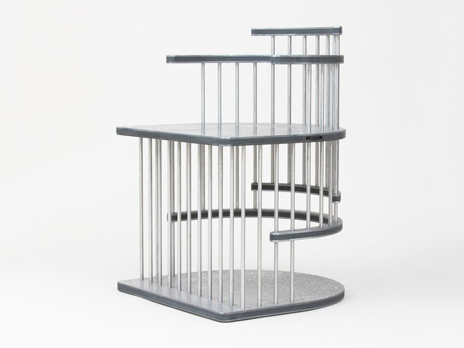 "Ian Stell ""Cricket Cage"", image 1"