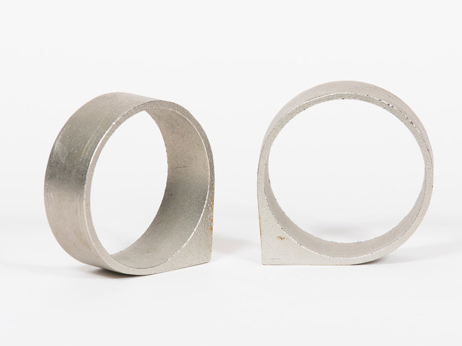 Carl Auböck Circular Stainless Steel Bookends, image 3