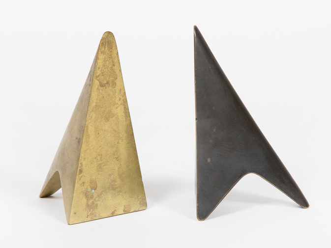 Carl Auböck Two-Tone Brass Bookends, image 2