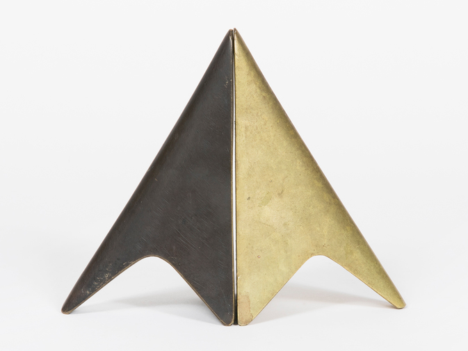 Carl Auböck Two-Tone Brass Bookends, image 5