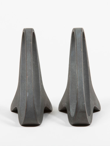 Carl Auböck Patinated Brass Bookends, image 3