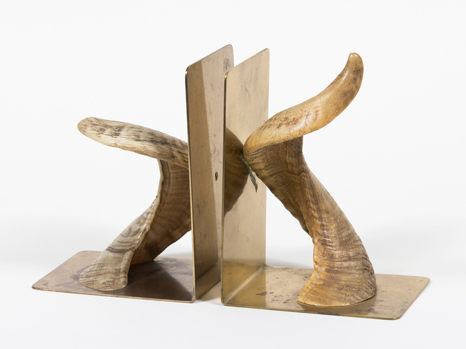 Carl Auböck Horn Bookends, image 1