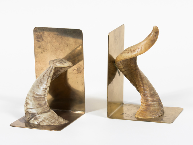 Carl Auböck Horn Bookends, image 2