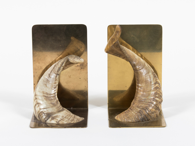 Carl Auböck Horn Bookends, image 3