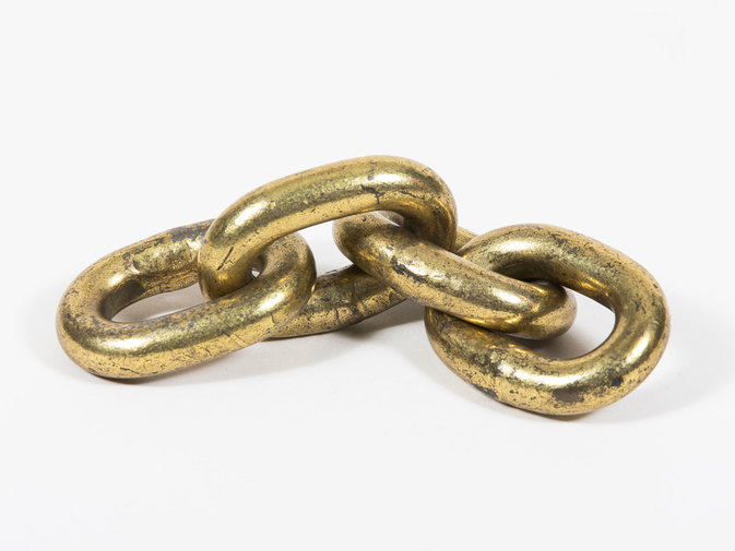 Carl Auböck Chain Paperweight, image 1