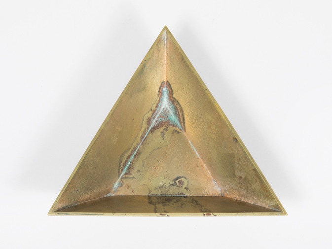 Carl Auböck Triangle Bowl, image 1