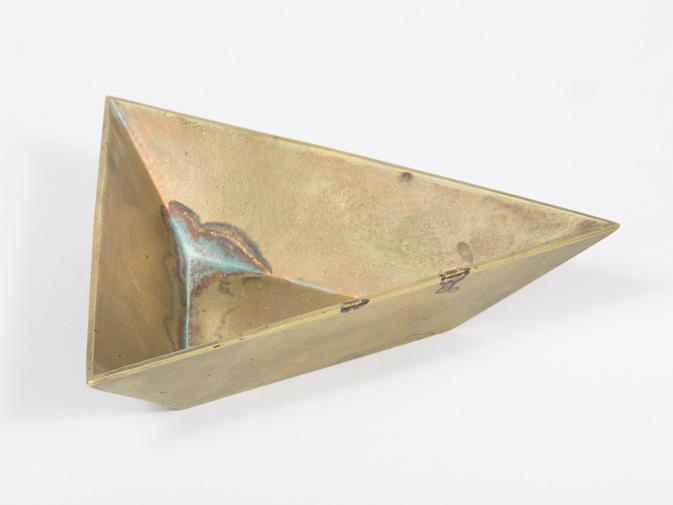 Carl Auböck Triangle Bowl, image 3