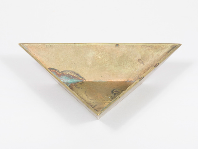 Carl Auböck Triangle Bowl, image 4