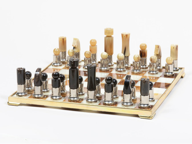 Carl Auböck Horn Chess Set, image 2