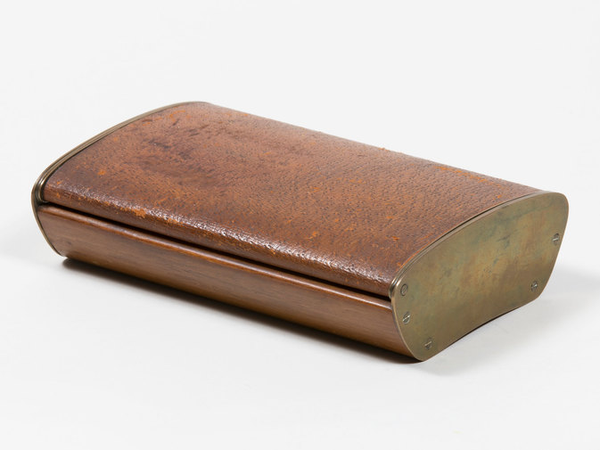 Carl Auböck Leather Box, image 1