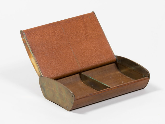 Carl Auböck Leather Box, image 3