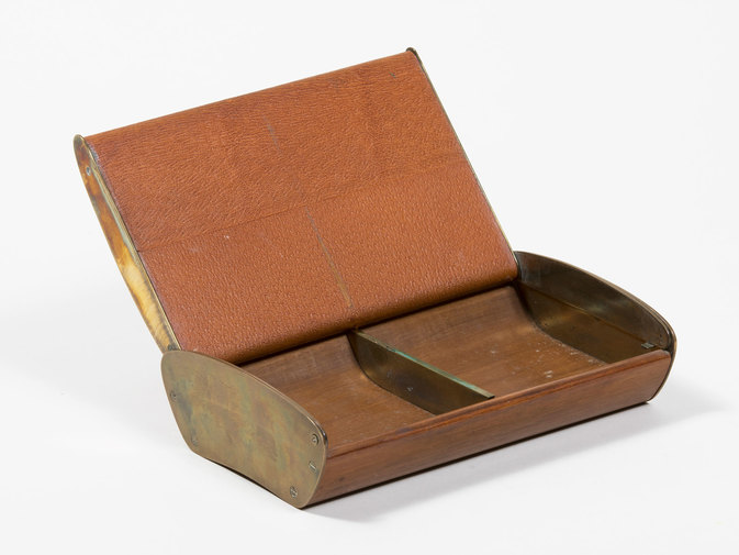 Carl Auböck Leather Box, image 4