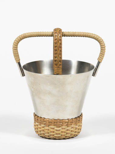 Carl Auböck Ice Bucket with Tongs, image 1