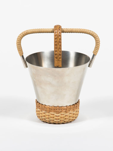 Carl Auböck Ice Bucket with Tongs, image 4