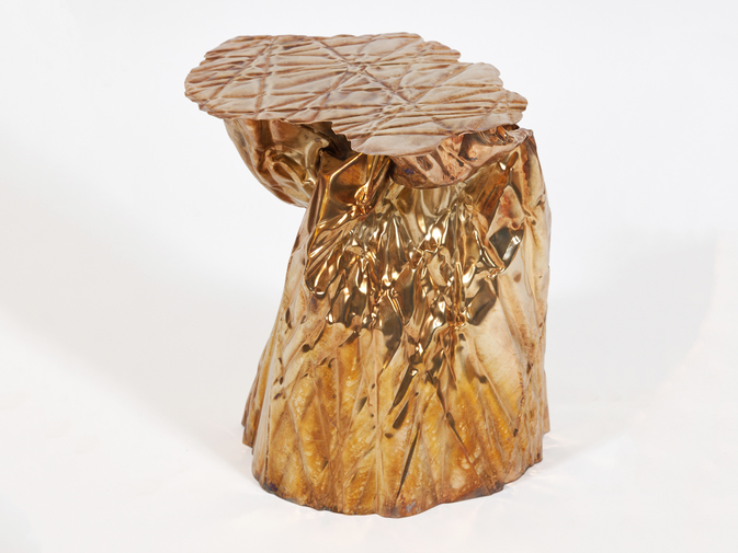 Christopher Prinz Wrinkled Side Table, image 1