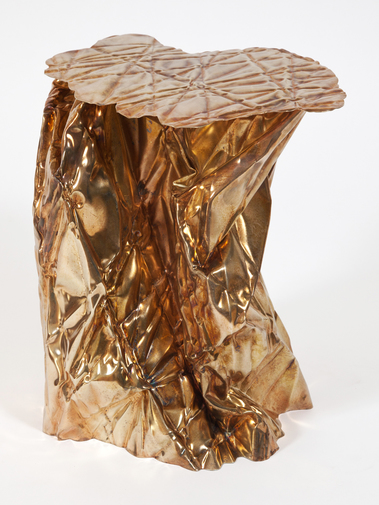 Christopher Prinz Wrinkled Side Table, image 2