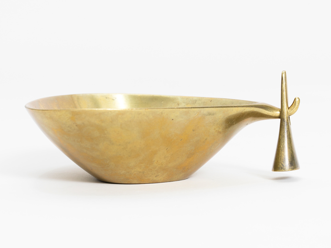 Carl Aubock Ashtray with Tamper, image 1