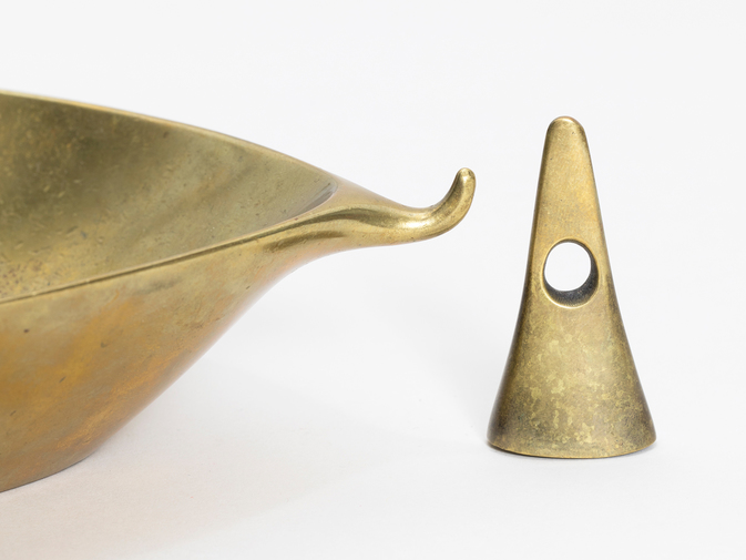 Carl Aubock Ashtray with Tamper, image 4