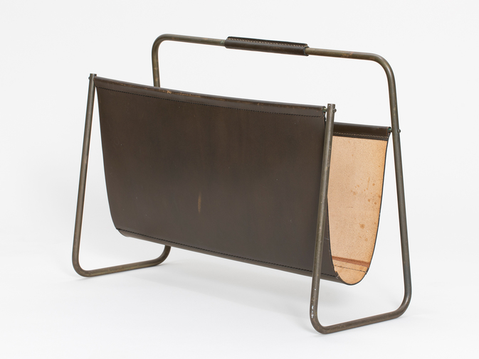 Carl Auböck Large Magazine Rack, image 3