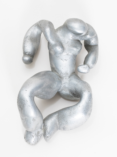 Reclining Woman Sculpture, image 3