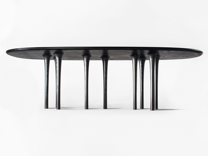 "Christopher Kurtz ""Inverness"" Dining Table, image 5"