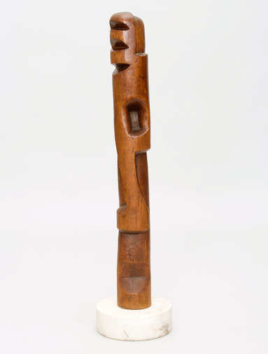 Modernist Totem Sculpture, image 1