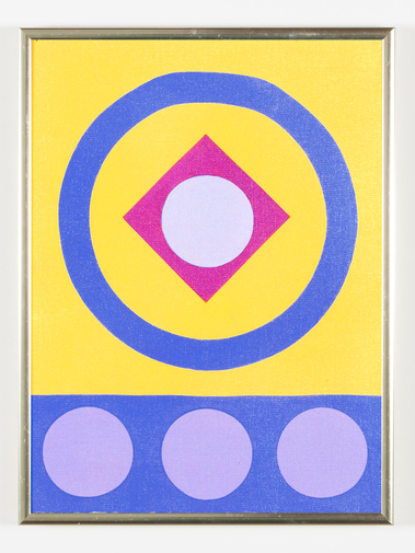 Kenneth Licht Geometric Paintings, image 17