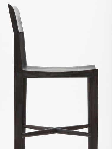 "Christopher Kurtz ""Quarter Round Counter Stool (With Backrest)"", image 2"