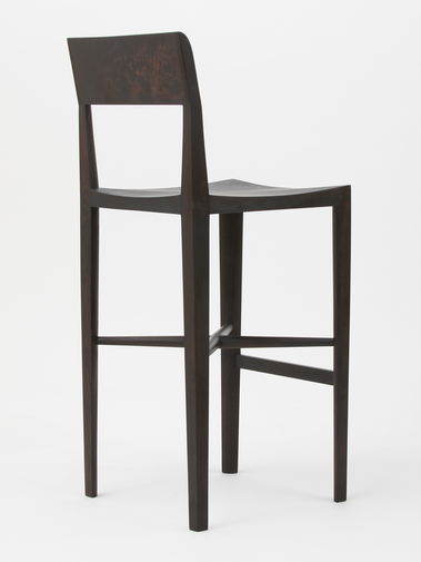 "Christopher Kurtz ""Quarter Round Counter Stool (With Backrest)"", image 5"
