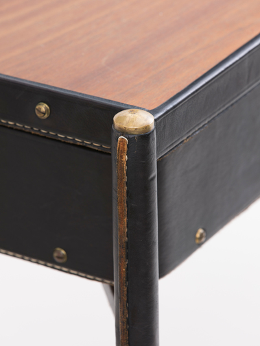 Jacques Adnet Leather Writing Desk, image 7