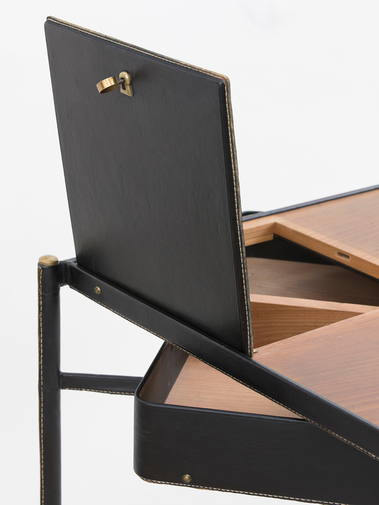 Jacques Adnet Leather Writing Desk, image 9