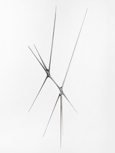 "Christopher Kurtz ""Untitled #9 (Graphite Suspended Sculpture), image 5"