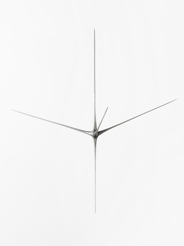 "Christopher Kurtz ""Untitled #8 (Graphite Suspended Sculpture)"", image 4"