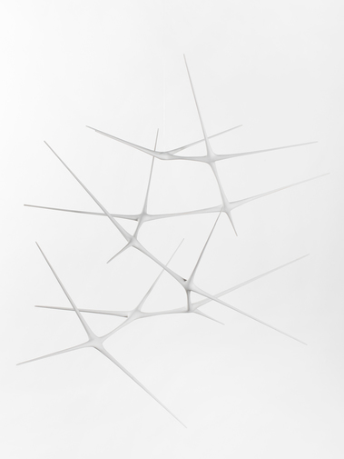 "Christopher Kurtz ""Untitled #6 (White Suspended Sculpture)"", image 1"