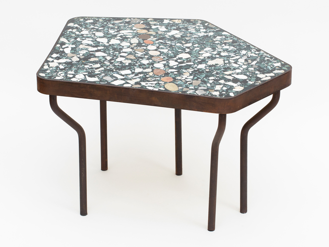 Felix Muhrhofer Terrazzo Side Table, image 1