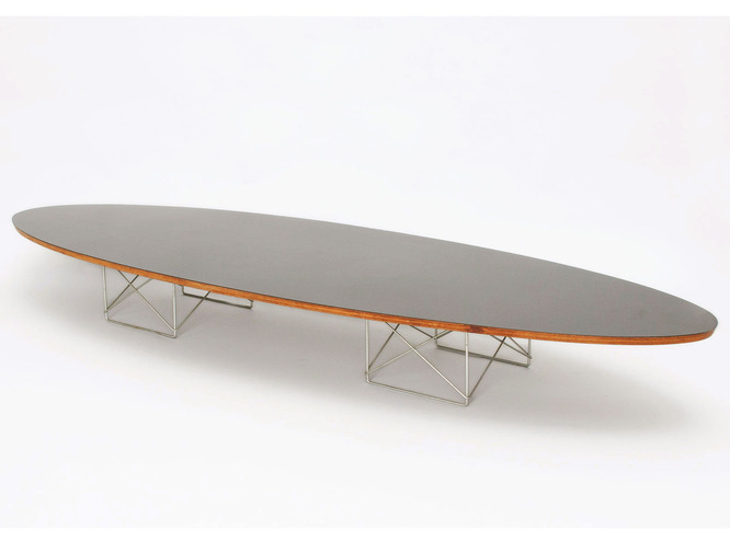 Eames Surfboard Table, image 1