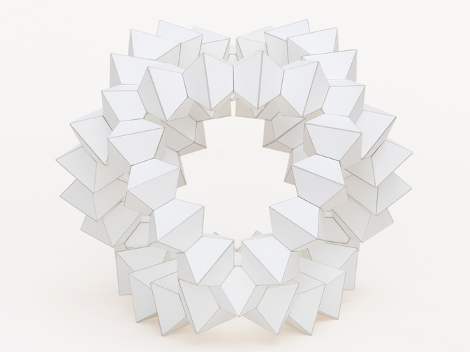 "Chris Beeston ""54 Octahedra"", image 1"
