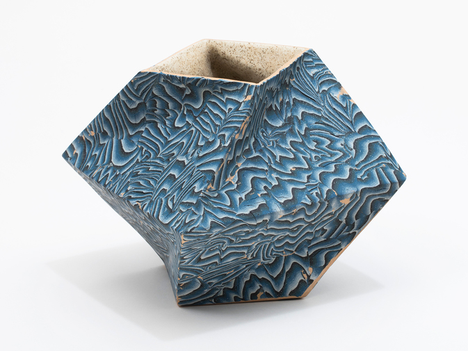 "Cody Hoyt ""Twisted Box"" Vessel, image 1"