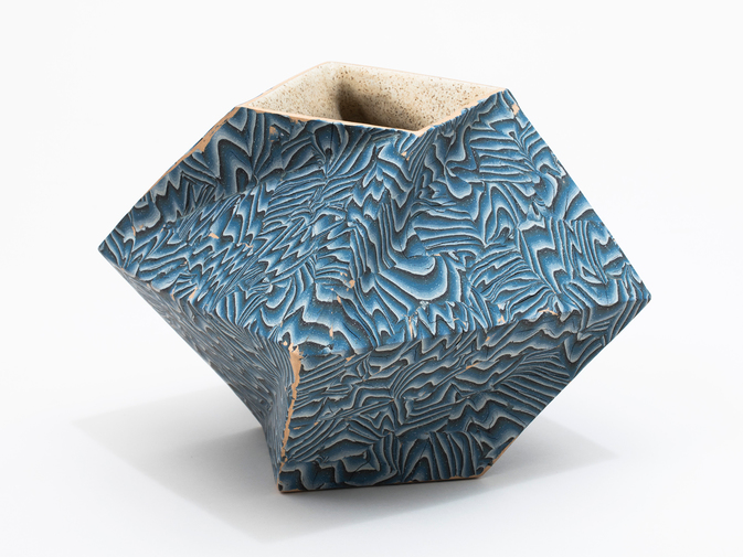 "Cody Hoyt ""Twisted Box"" Vessel, image 4"