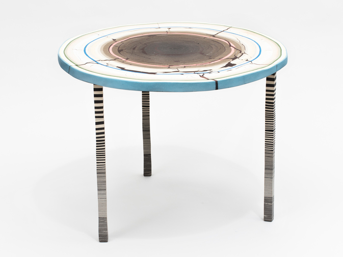 "Cody Hoyt ""Flat Earth"" Table, image 6"