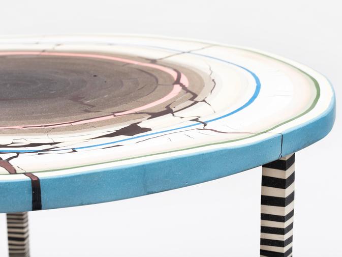 "Cody Hoyt ""Flat Earth"" Table, image 7"