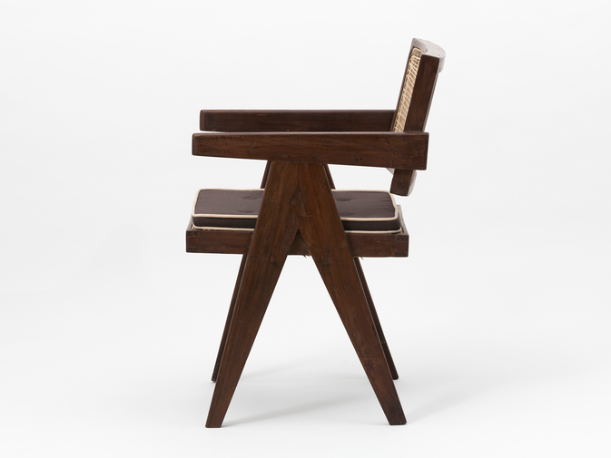 Pierre Jeanneret Floating Back Armchair, image 2