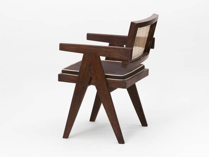 Pierre Jeanneret Floating Back Armchair, image 3