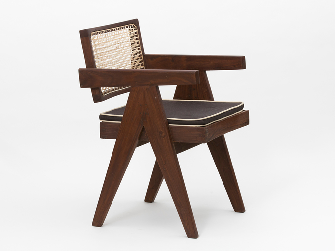 Pierre Jeanneret Floating Back Armchair, image 5