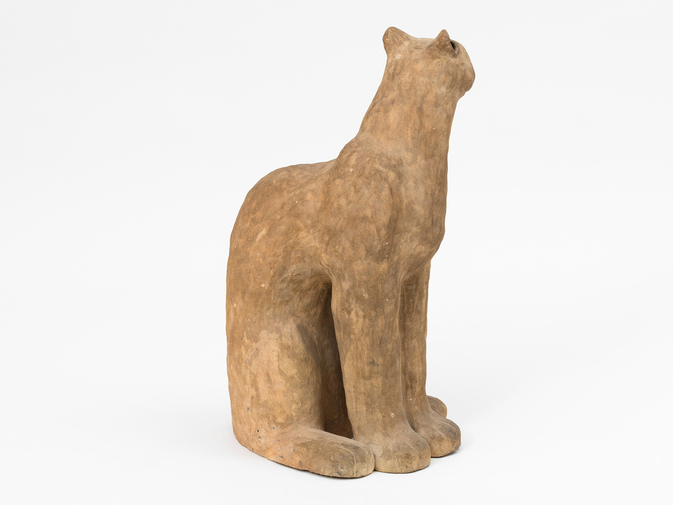 Ceramic Cat Sculpture, image 5