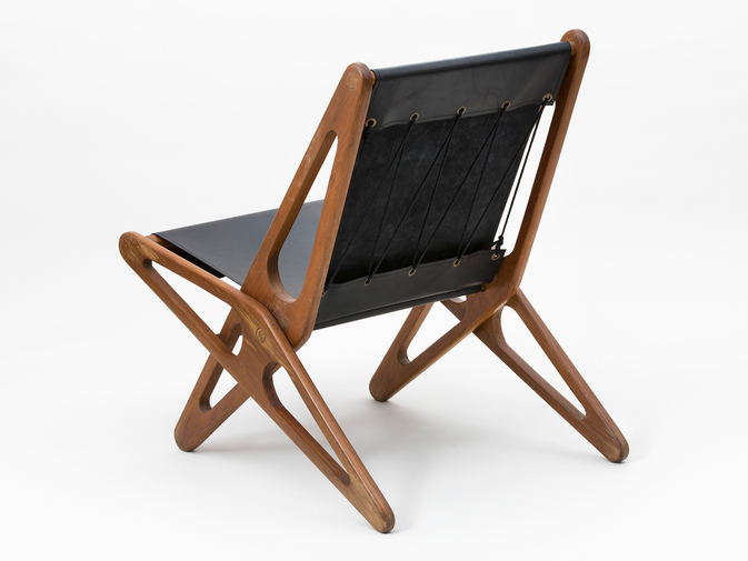 Ficks Reed Leather Folding Chairs , image 6