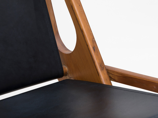 Ficks Reed Leather Folding Chairs , image 10