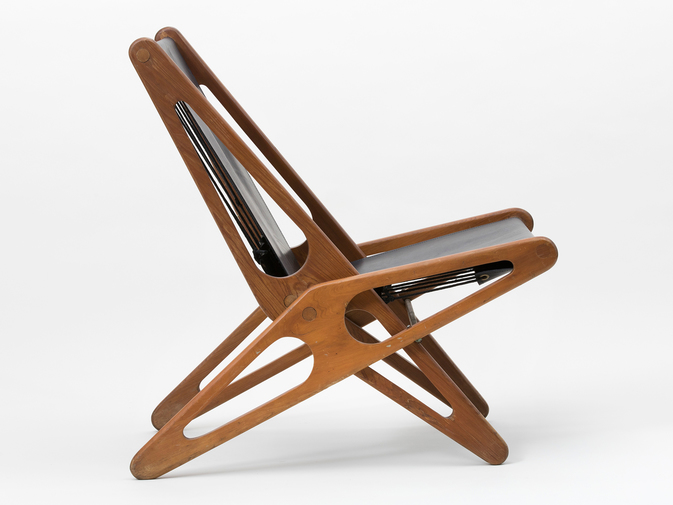 Ficks Reed Leather Folding Chairs , image 11