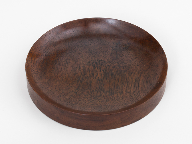 Walnut Catchall by Nanny Still, image 1